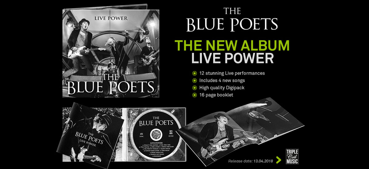 """Live Power"" New Album out now!"