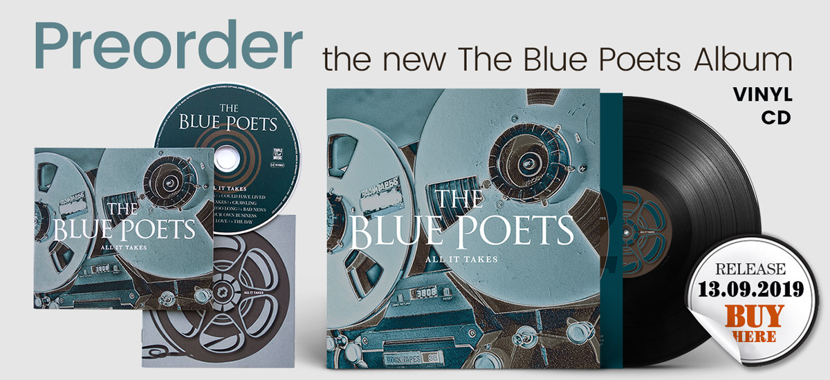 Preorder teh new The Blue Poets Album - CD and Vinyl