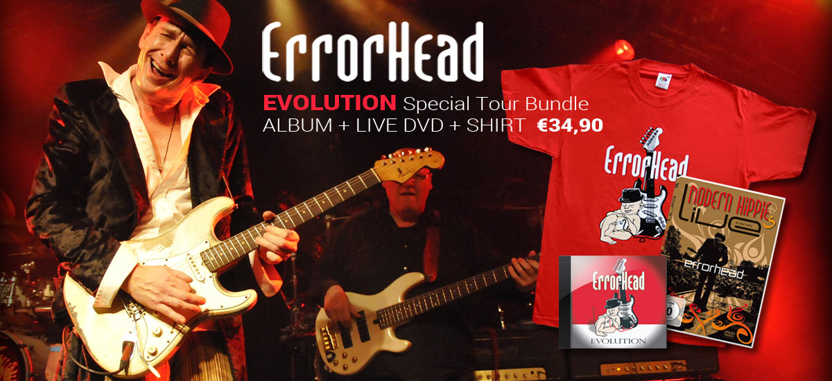 Evolution Tour Bundle CD + DVD + Shirt