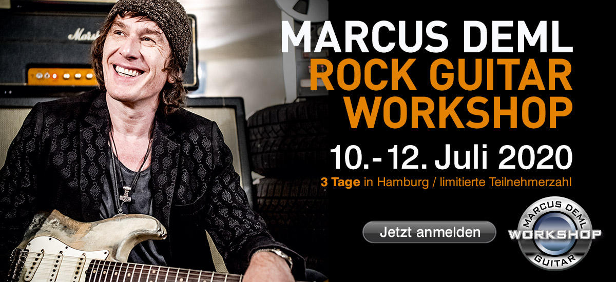 Marcus Deml Rock Guitar Workshop