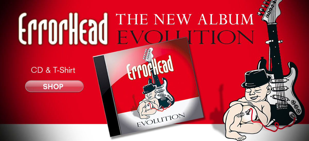 Errorhead Evolution - The New Album