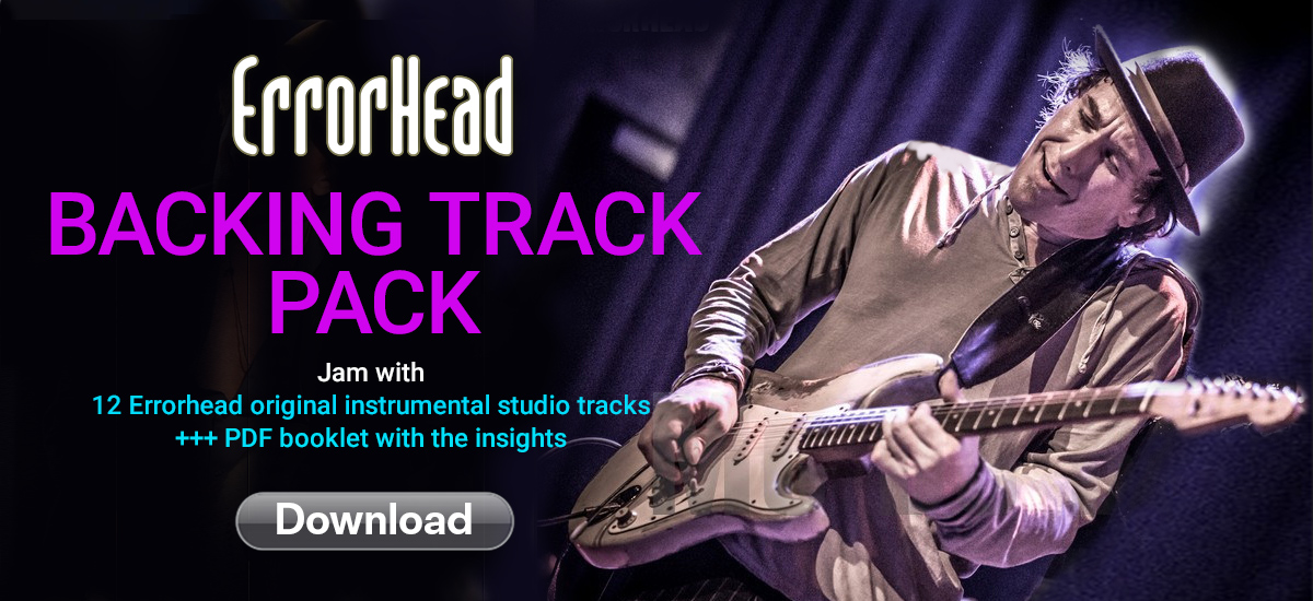 Errorhead Backing Track Pack