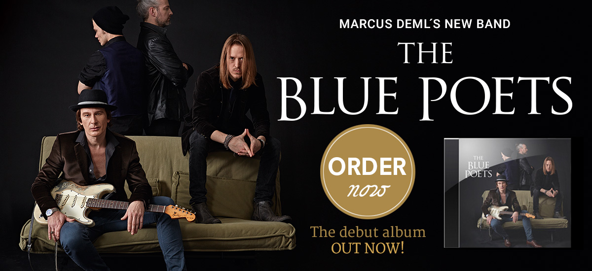Marcus Deml new Band The Blue Poets