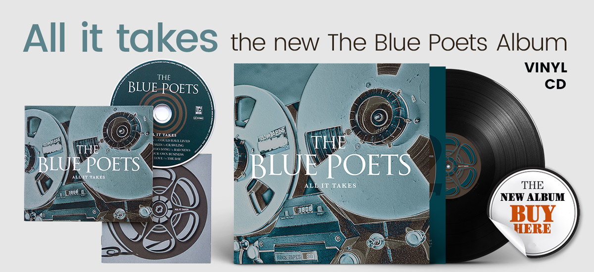 The new The Blue Poets Album - CD and Vinyl