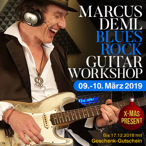 marcus deml guitar workshop xmas